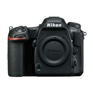 Nikon D500 Kamera DSLR [Body Only] Kredit tanpa Kartu Kredit