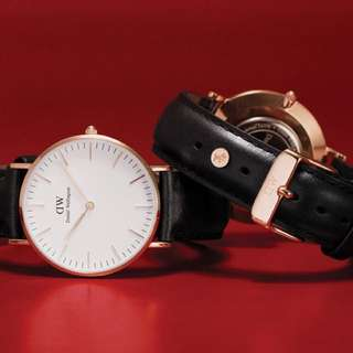 Daniel Wellington CNY Watch Set (watch + dog charm) - Limited Edition