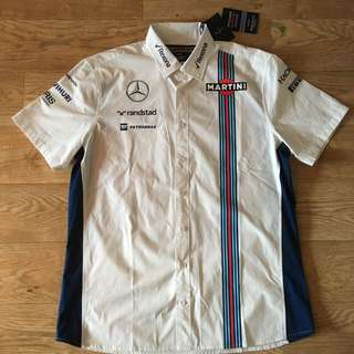 [ready-stock] Hackett Williams Martini Racing technical shirt