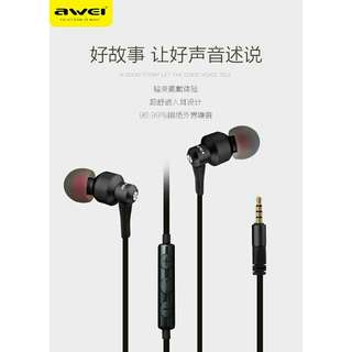 Authentic awei ES-50ty earphone