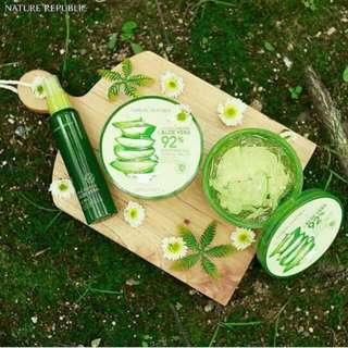 Aloe Vera shooting and moisture by nature republic