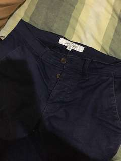 Topman navy blue chino original