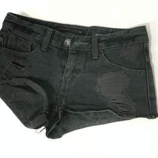 Shortpants Dusty black