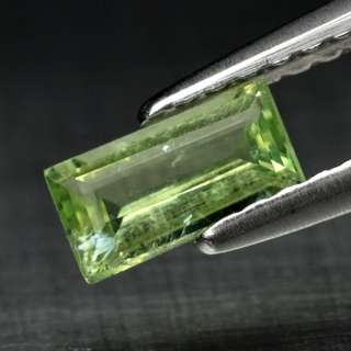 0.37ct Baguette Green Natural Paraiba Tourmaline