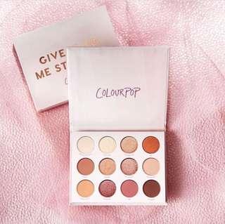[INSTOCK BNIB 💓] Colourpop give it to me straight eyeshadow palette