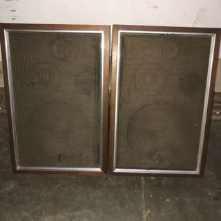 pioneer cs-60 古董鋼鐵磁石喇叭