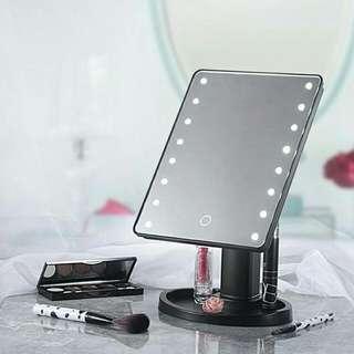 16pcs led light mirror make up