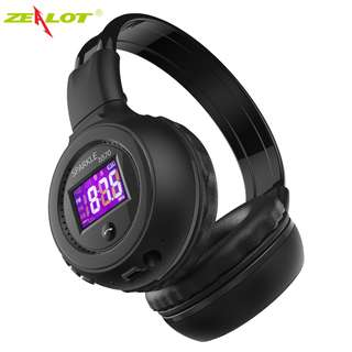 Zealot B570 Wireless Bluetooth Headphone Stereo Headset LCD Portable Foldable Earphone mp3 Micor SD Card Slot with MIC hand-free