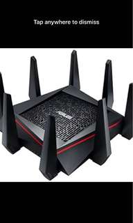 Asus AC 5300 wireless Tri band router