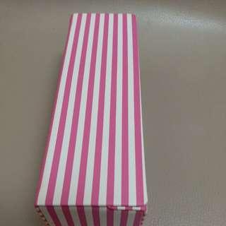 粉白白色眼镜盒