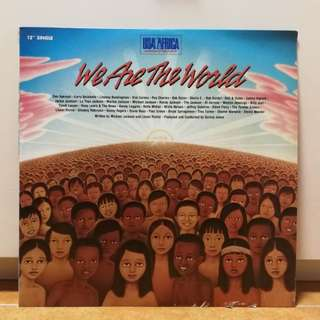 We Are The World黑膠碟