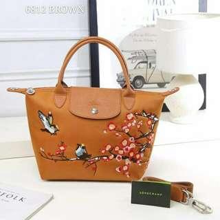 Longchamp Sakura Brown