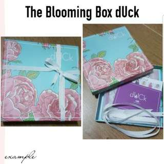 Blooming Series with Box dUCk scarves *INSTOCK*