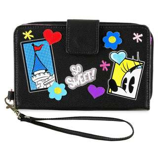 Mickey and Minnie Mouse Comic Wristlet