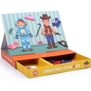 *In Stock* BN Magnets Boy & Girl Dressing Up Puzzle Game Toy Set