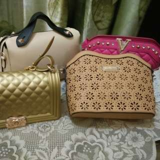 Jelly chanel boy, sling bag doctor bag