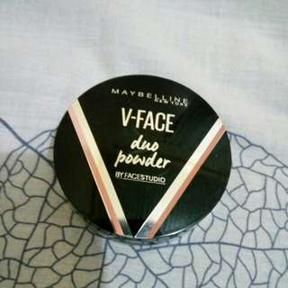 maybelline v-face powder