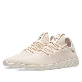 Adidas x Pharrell Williams Tennis Hu Linen/ Chalk white W