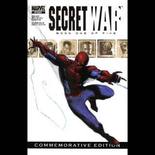 SECRET WAR #1 (2004) First issue! Commemorative Edition