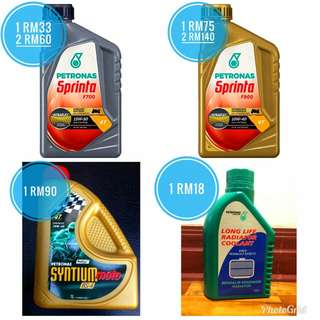 Petronas motorbike Engine oil