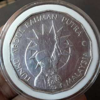 Siling peringatan $25 silver -25th merdeka (1987) utk di jual