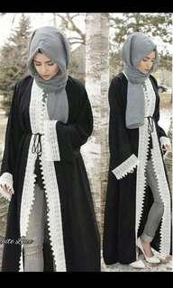Dubai Abaya Cardigan