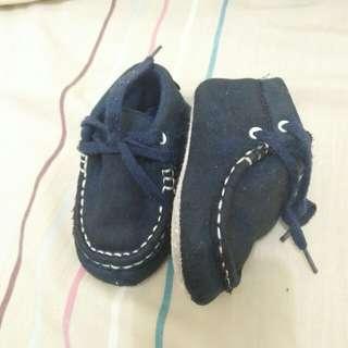 dark blue baby boy shoes