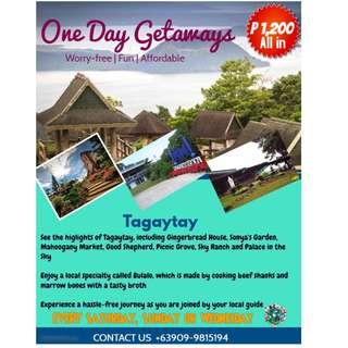 Tagaytay Day Tour