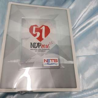 NDP 2016 limited edition Nets Flashpay Card