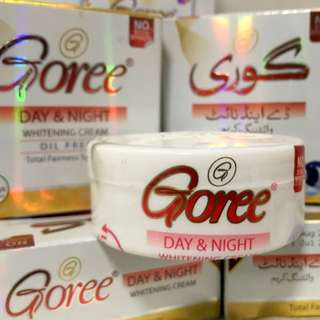 AUTHENTIC GOREE DAY & NIGHT CREAM, BEAUTY CREAM & WHITENING SOAP