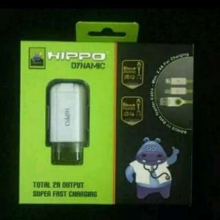 Adapeter hippo  dynamic dual output