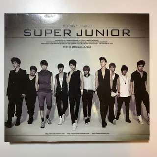 韓版 四輯 BONAMANA Super Junior