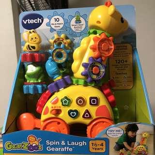 *ready stocked* VTech GearZooz Spin & Laugh Gearaffe giraffe