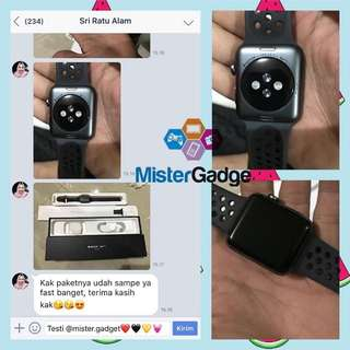 #realtestimoni Apple X dan Apple watch