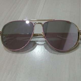 全新 粉色太陽眼鏡