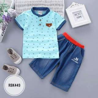 Boy Sets RBK449 Blue