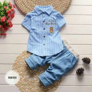 Boys Set RBK450 Blue