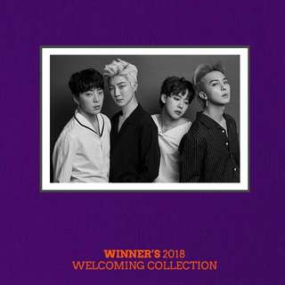 [MY GO] MYR180 WITH EMS: WINNER'S 2018 WELCOMING COLLECTION (Limited Edition)