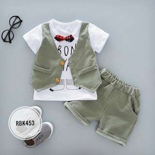 Boy Set RBK453 Green