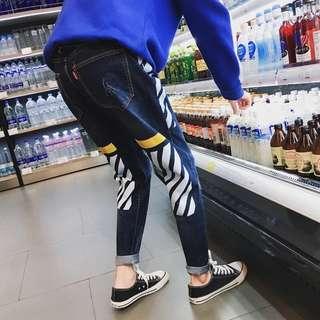 春款牛仔褲
