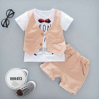 Boy Set RBK453 Orange