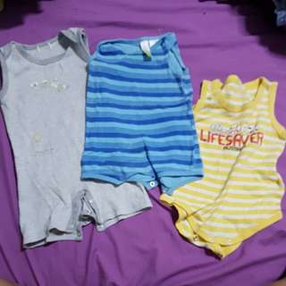 3 set baby romper - from australia/austalian ALL FOR $4 or buy $10 or more and get this FREE!