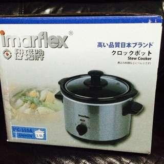 Imarflex 伊瑪牌 ISC-15SA 1.5L 多功能 電子瓦鍋/瓦罉/燉盅 Stew Cooker 全新正版有盒