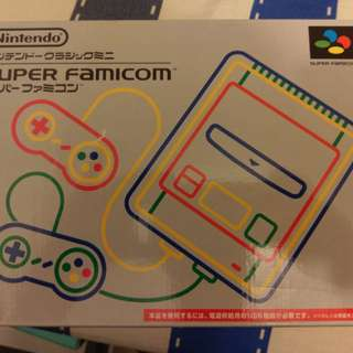 nintendo super famicom 迷你超任