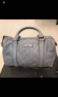 Gucci Leather Bag~Authentic