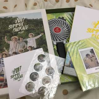 BTS SUMMER PACKAGE 2017 with jungkook selfie book (can nego)
