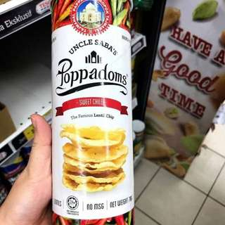 🚚 印度薄餅Poppadoms
