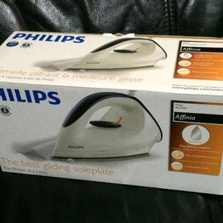 Philips 飛利浦 GC160 Dry Irons 乾熨斗 1200w 全新正版有盒