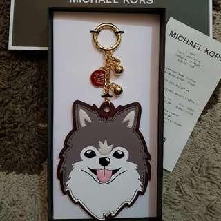 Authentic Michael Kors Husky Bag Charm