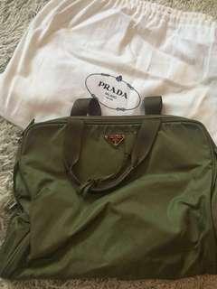 Prada Vintage Nylon Tote/Document bag